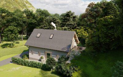Дом в деревне Битне